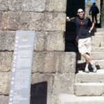 Exploring the castle in Guimaraes while at the Second World Congress of Environmental History