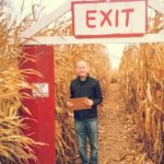 Finding my way through a Halloween Corn Maize