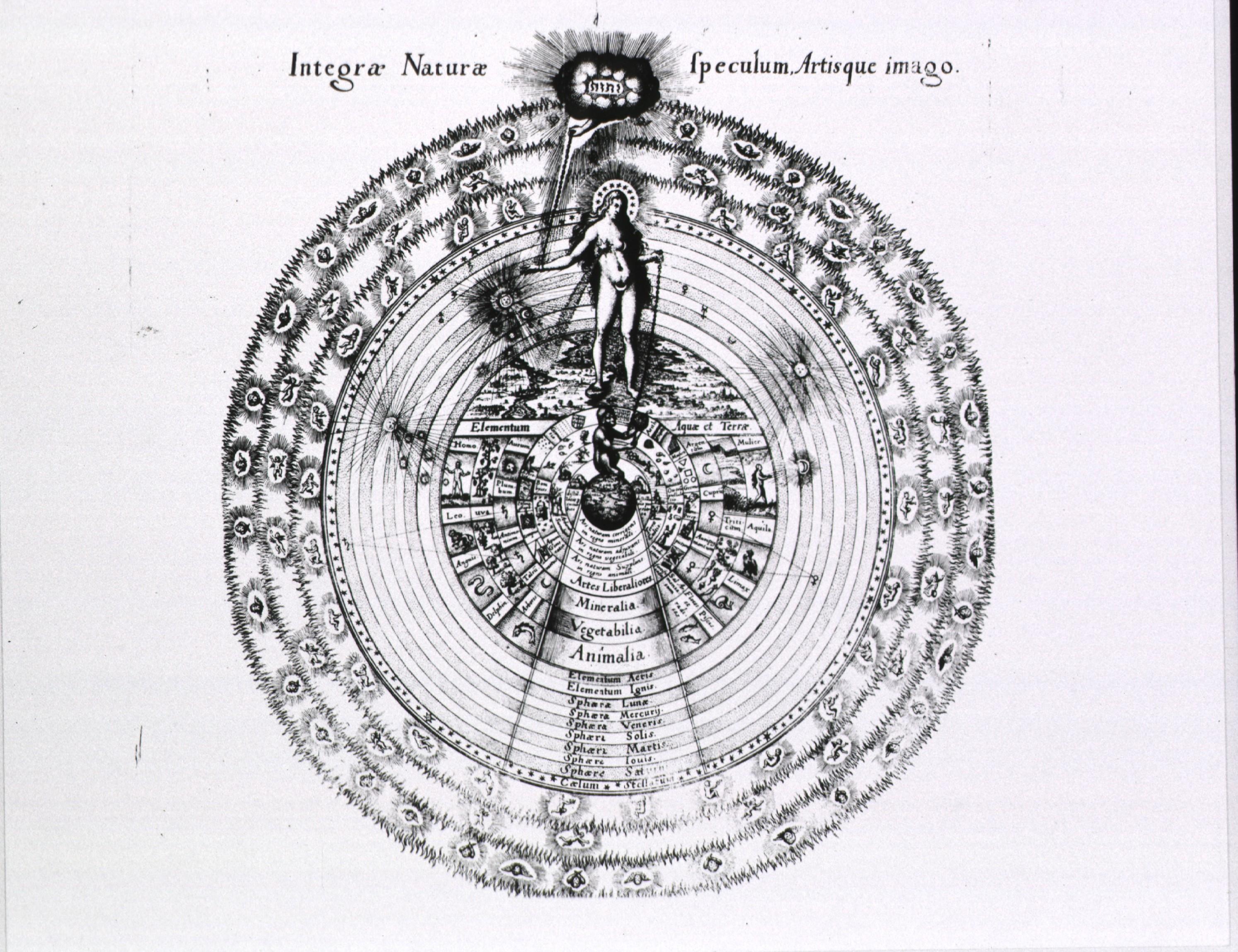 Robert Fludd - Integrae Naturae Speculum, Artisque imago
